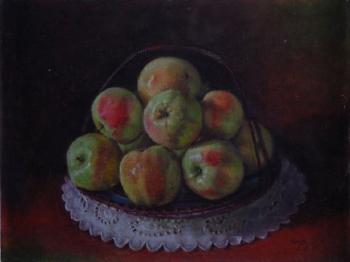 Hirsch Jan: A still life with apples